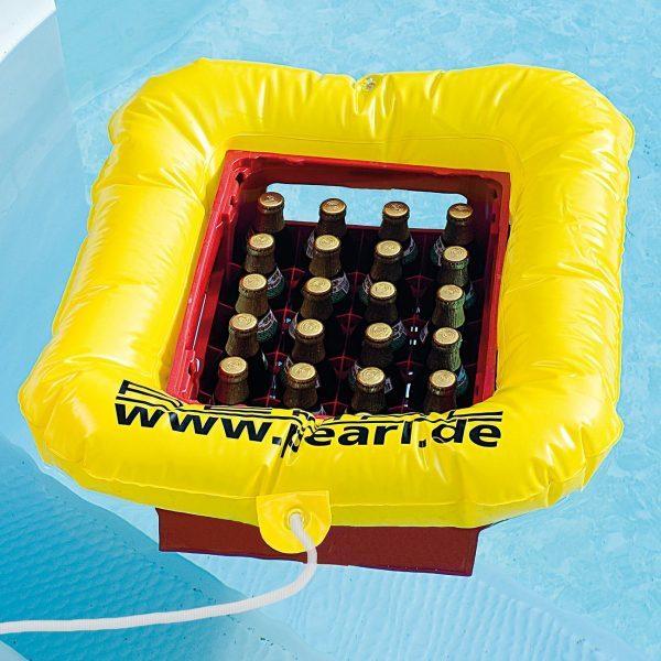 Bierkasten Rettungsring Kastenschwimmer See