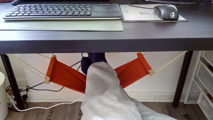 Fußhängematte