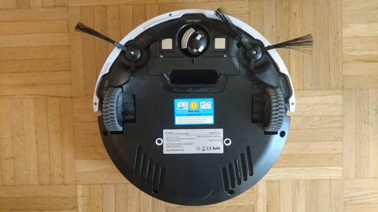 ILIFE V5S Pro Saugroboter Unterseite