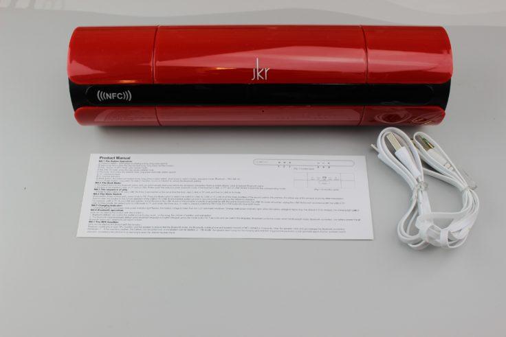 JKR - LR 8800 Lieferumfang