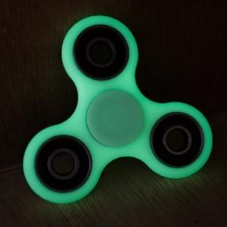 LED Fidgetspinner neongrün