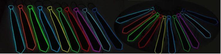 LED Krawatten