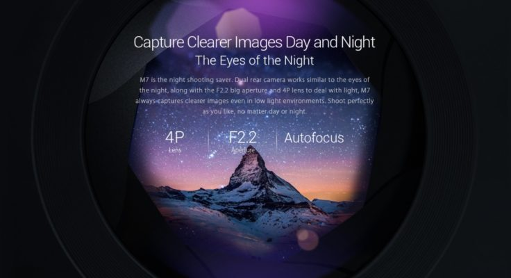 Leagoo M7 Smartphone Kamera