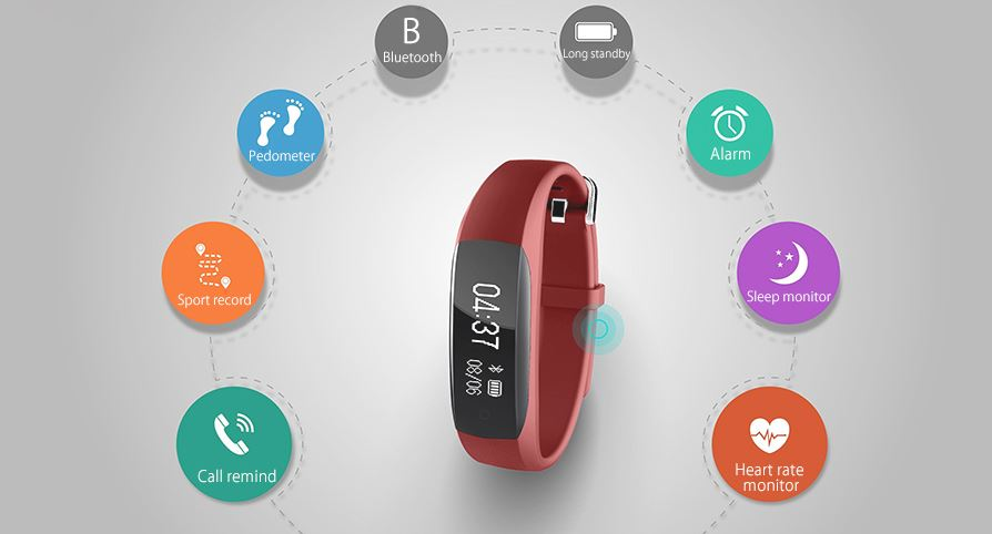pollix pro fitness activity tracker pulsuhr mit. Black Bedroom Furniture Sets. Home Design Ideas