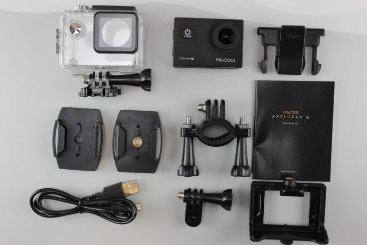 MGCOOL Explorer 1S 4K Actioncam Zubehör
