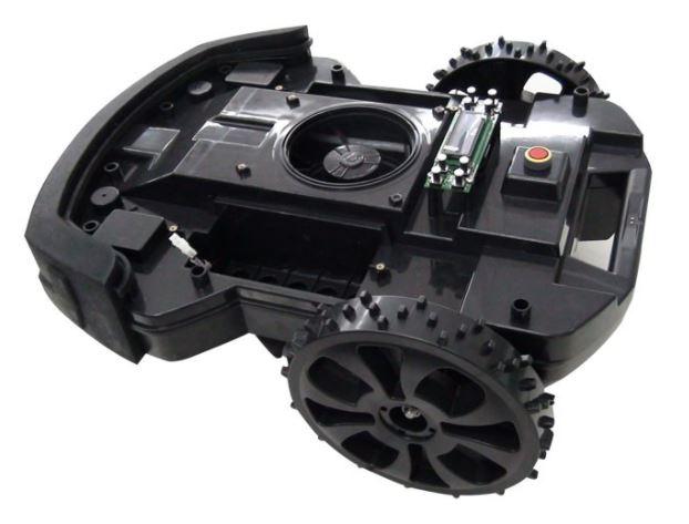 Pakwang L600 Maehroboter Unterseite