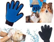 Pflegehandschuh Hundebürste