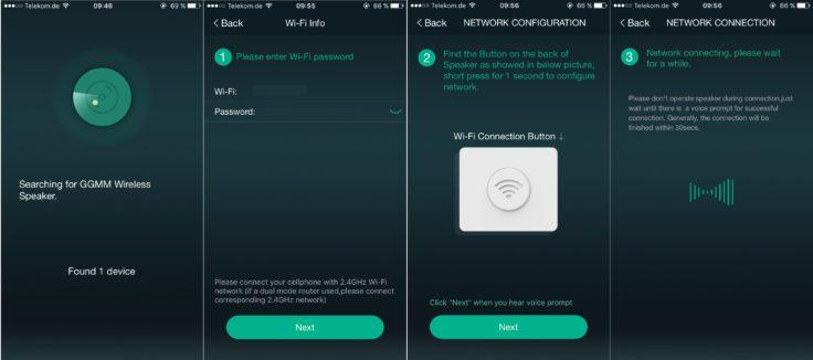 Speaker verbinden iOS