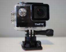 ThiEYE T5e Action Cam in Case