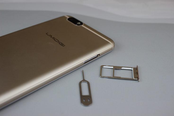 UMIDIGI C Note Hybrid SIM