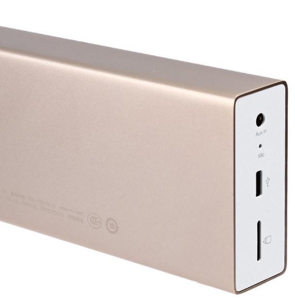 Xiaomi Metal Box Speaker Eingänge