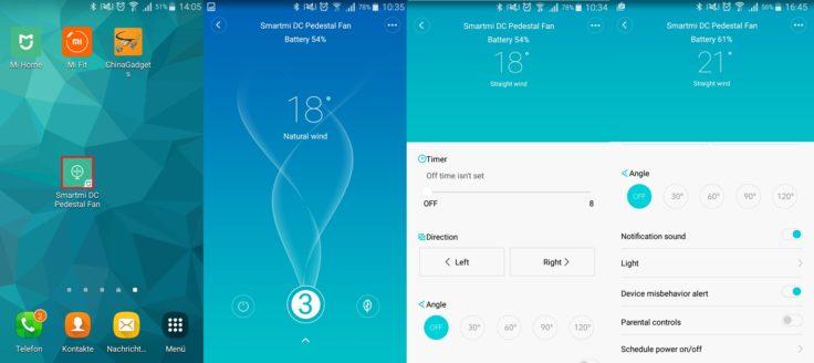 Xiaomi Smart Ventilator Mi Home App
