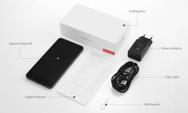 Xiaomi Redmi 4A Zubehör