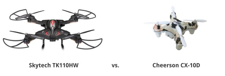 Skytech TK110HW vs. Cheerson CX-10D