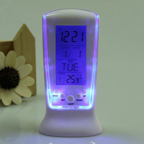 led uhr mit wecker temperatur musik f r 2 72. Black Bedroom Furniture Sets. Home Design Ideas