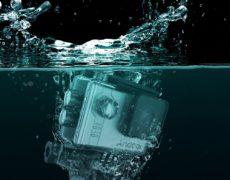 Andoer Action Cam unter Wasser