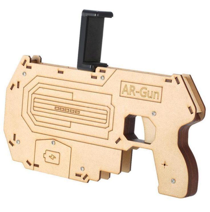Augmented Reality Pistole fürs Smartphone