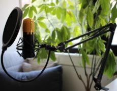 Aukey GD-G1 mit Tisch-Mikrofonarm und Popschutz