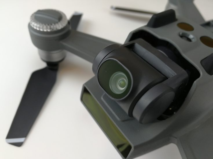 DJI Spark Selfie Drohne Kamera