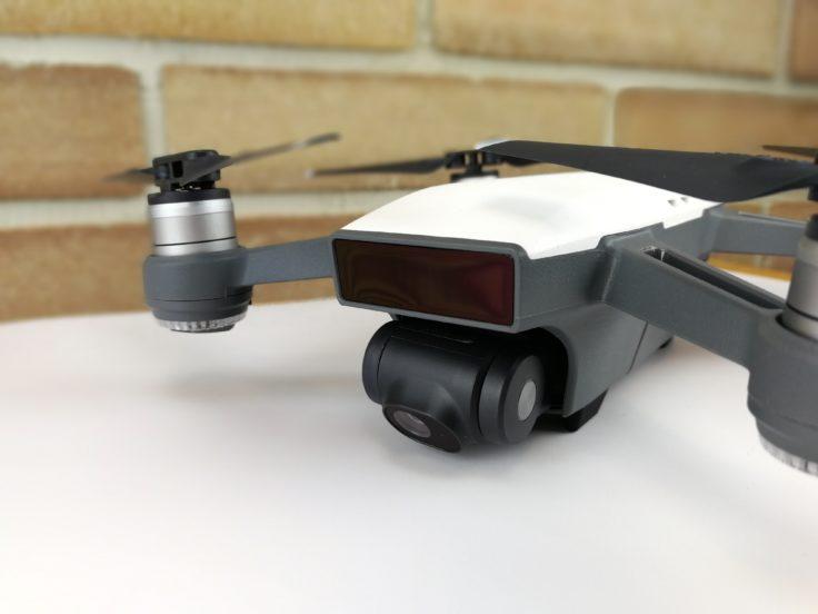 DJI Spark Selfie Drohne Front
