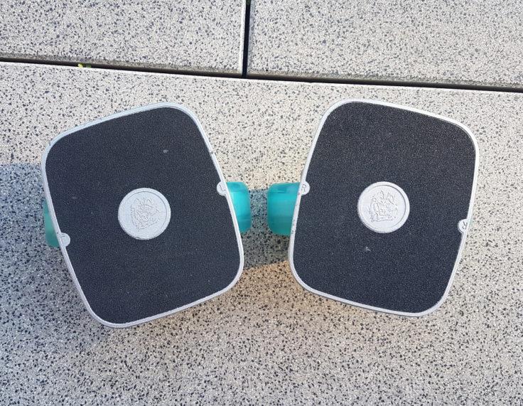 Die richtige Position der Drift Skates