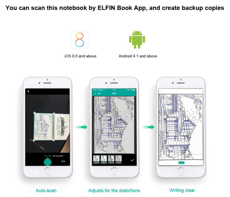 ELFIN Notizbuch App