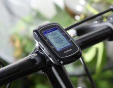 Garmin Edge 200 Fahrradcomputer am Fahrrad montiert