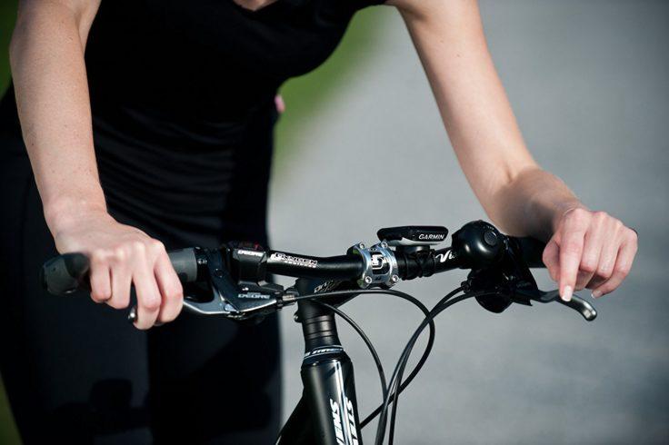 Garmin Edge 200 an einem Fahrradlenker