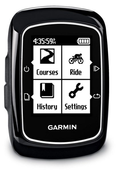 Garmin Edge 200 in der Frontansicht