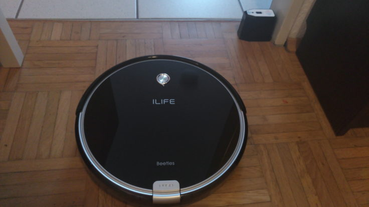 ILIFE A6 Saugroboter Virtuelle Wand Performance