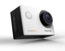 MGCOOL Explorer Pro Action Cam weiß seitliche Ansicht