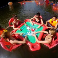 Swimming Pool Poker Tisch