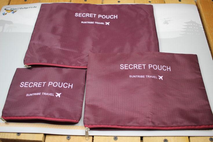Reiseset Secret Pouch
