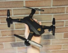 VISUO XS809W XS809HW Drohne