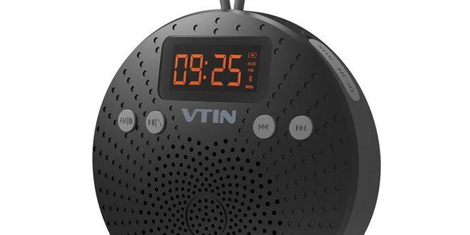 victsing bluetooth dusch lautsprecher mit fm radio. Black Bedroom Furniture Sets. Home Design Ideas