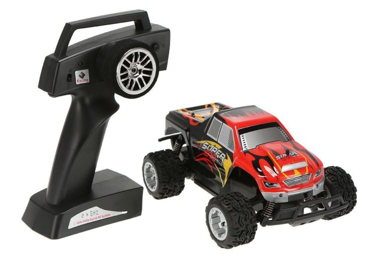 ferngesteuerter mini monster truck wltoys l343 f r 22 35. Black Bedroom Furniture Sets. Home Design Ideas