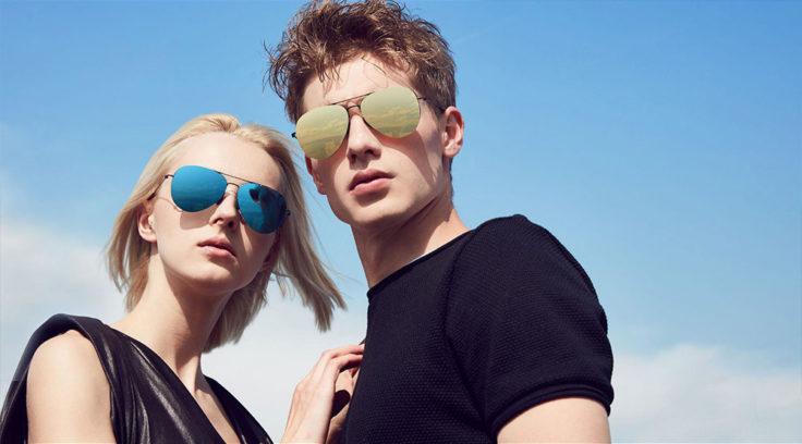 Mann und Frau mit Xiaomi Sonnenbrille
