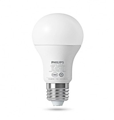 Xiaomi Philips Smart LED in der Rückansicht