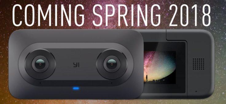 YI Horizon VR180 Camera 3D-Kamera Release Herbst