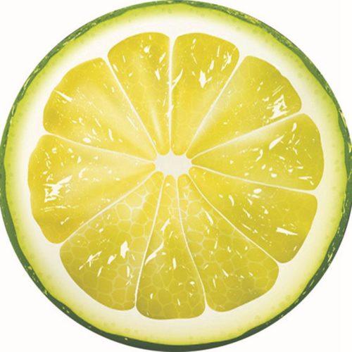 Querschnitt einer Zitrone