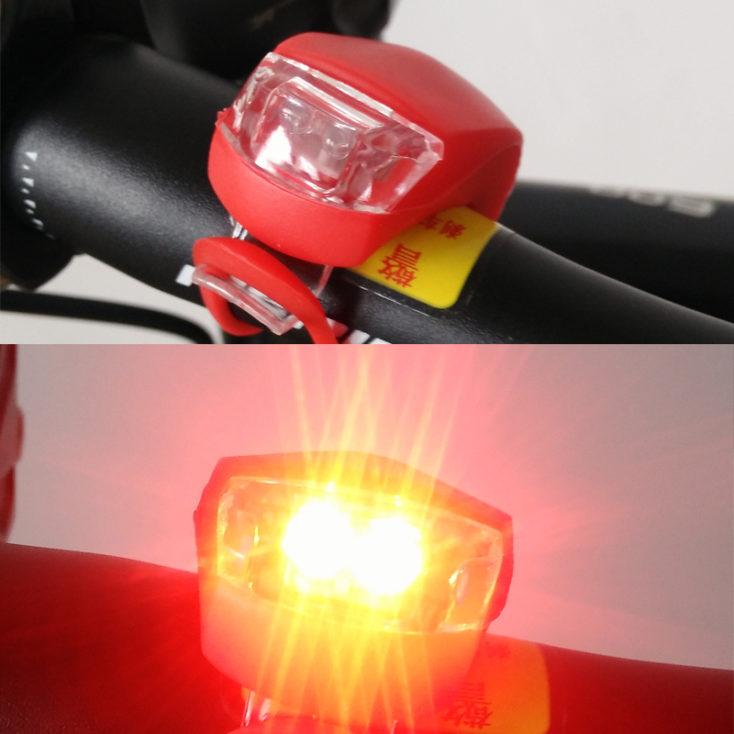 flexible wasserdichte Fahrradlichter