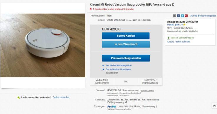 xiaomi sauger auf eBay
