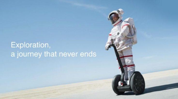 Astronaut auf Xiaomi