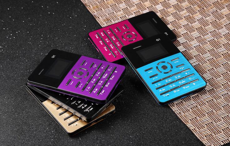 AIEK Q1 Mini Handy Farben
