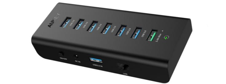 Aukey USB & Ethernet Hub