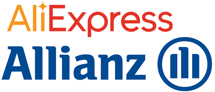 AliExpress und Allianz Logo Kooperation