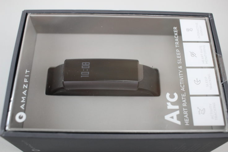 Xiaomi Huami Amazfit Arc A1603 Fitness Tracker Verpackung