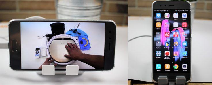 CHUWI USB Hi-Dock Handyhalterung vertikal und horizontal