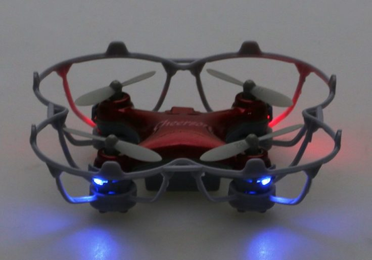 Cheerson CX-10SE Mini Quadrocopter LED Lichter im Dunkeln