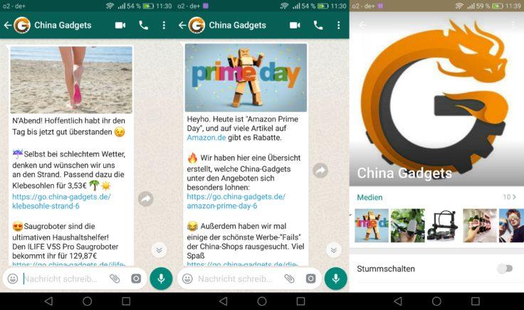 China Gadgets Whatsapp